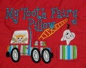 Tooth Fairy Pillow In The Hoop Embroidery Design 2 sizes for hoops  5x7 and 6x10 INSTANT Download