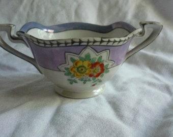 Beautiful Noritake Morimura Lusterware Sugar Bowl