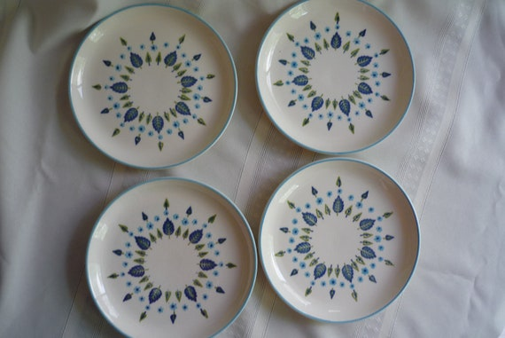 Set of 6 Marcrest/ Stetson Alpine Swiss Bread and Butter Plates