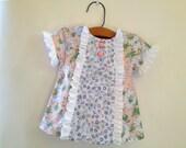Suzie Q - Baby Girl PDF Dress Pattern.  Baby pattern.  Sizes NB, 6m, 12m, 18m, 24m included