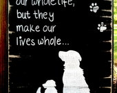 """Retrievers - 'Dogs are not our whole lives..."""""""