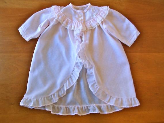 SALE! Vintage Pale Pink Polka Dot Pajamas (baby)