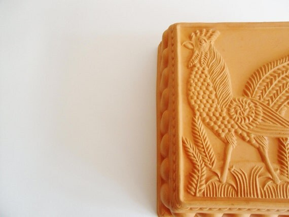 French Country Terra Cotta Rooster Mold