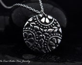 Recycled Silver, Moroccan Style, Pendant, Necklace