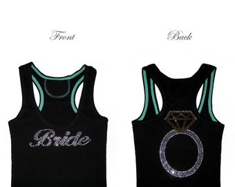 Bride Tank Top, Lace Tank Top, Bride Shirt, Bride Gift, Bachelorette Party Shirts, Bridal Shower Gift, Engagement Gift, Bride to Be, Wedding