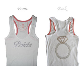 Bride Tank Top. Bride Shirt. Bride Gift. Will You Be My Bridesmaid. Wedding Gift. Engagement Gift. Bridesmaid Shirts. Bachelorette Shirts.