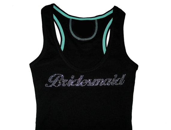 Bridesmaid Tank Top Shirt. Sizes S to 3XL. Bride Tank Top Shirt.  Maid of Honor. Mother of the Bride. Wedding Clothes.