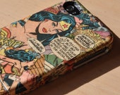 Vintage Wonderwoman Comic Book Custom iPhone 4/4s Case