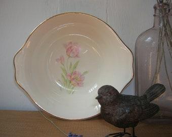 Vintage Tulip Bowl