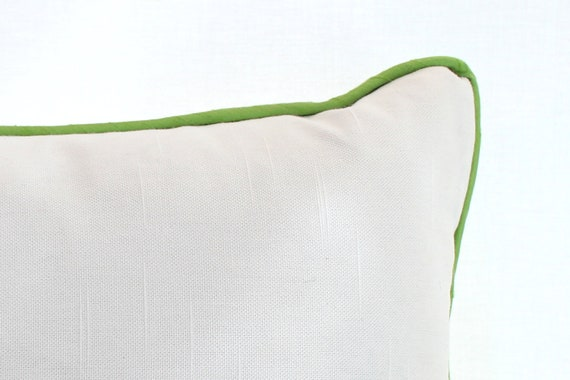 how to add braided piping to cushions