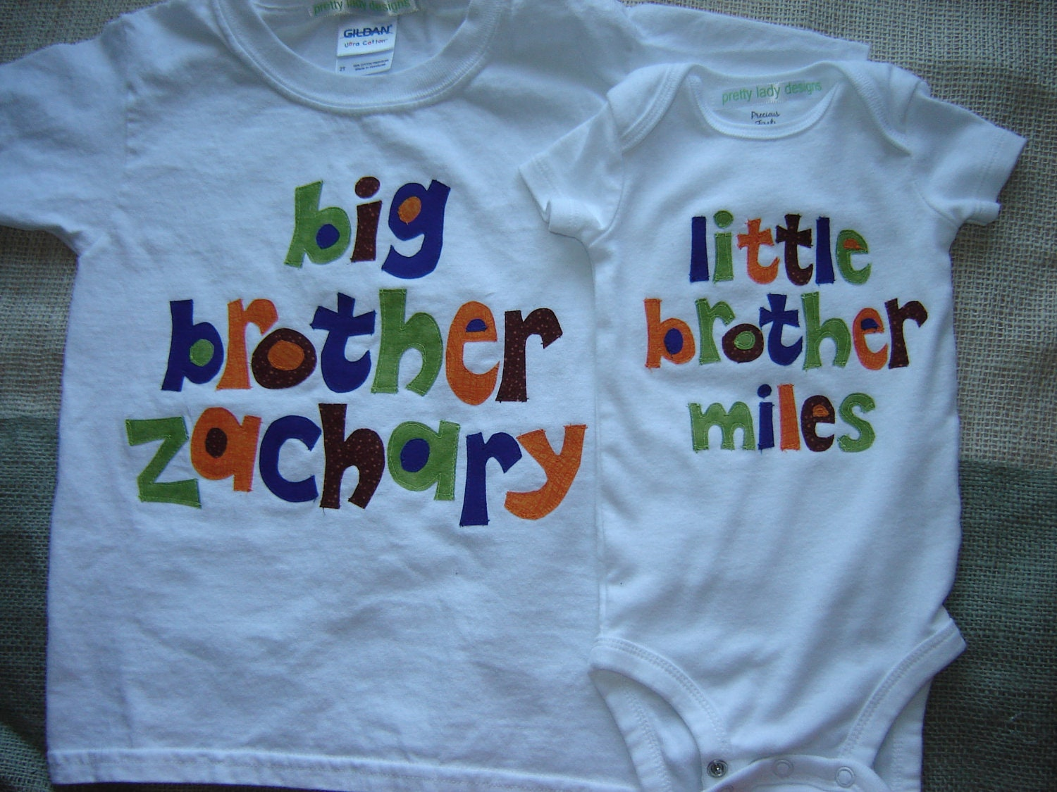 Like this item? - Custom Personalized Big Brother/Little Brother Shirt Combo