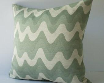 Pillow - decorative pillow - throw pillow - accent pillow - decorative throw pillow - Ocean waves 20 x 20 inches