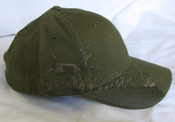 "Embroidered ""Olive Buck"" Hat"