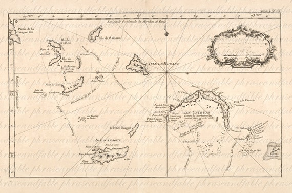 Map of the bahamas from the 1700s 155 ancient digital image map of the bahamas from the 1700s 155 ancient digital image download bahamas island tropical grand andros nassau harbour exumas sciox Gallery