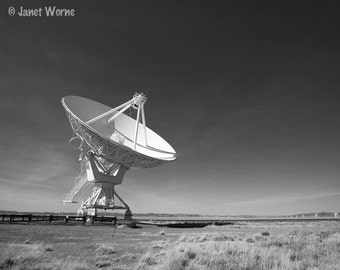 Contact, Very Large Array, Fine Art Photograph