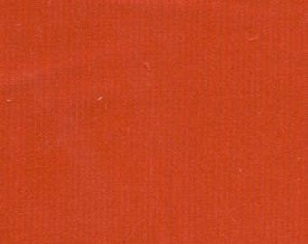 Red Fine Wale Cotton Corduroy