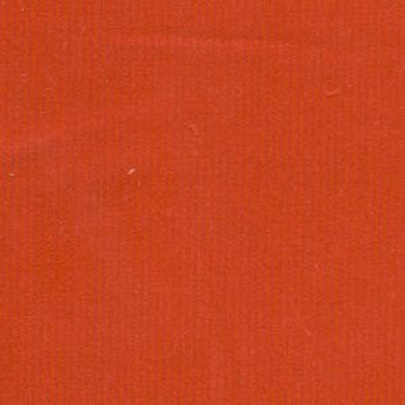 Red Fine Wale Cotton Corduroy