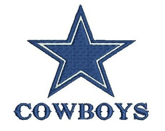 TX Cowboys, Texas, Cowboy Star, Embroidery Design (57) Instant Download