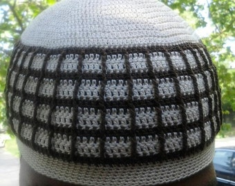 ghuraba, means traveler. It is what I call this 100% cotton kufi style beanie.