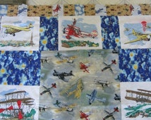 Popular Items For Airplane Quilt On Etsy