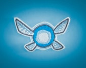 Navi -- Nintendo Zelda Fairy Embroidered Iron-on Patch
