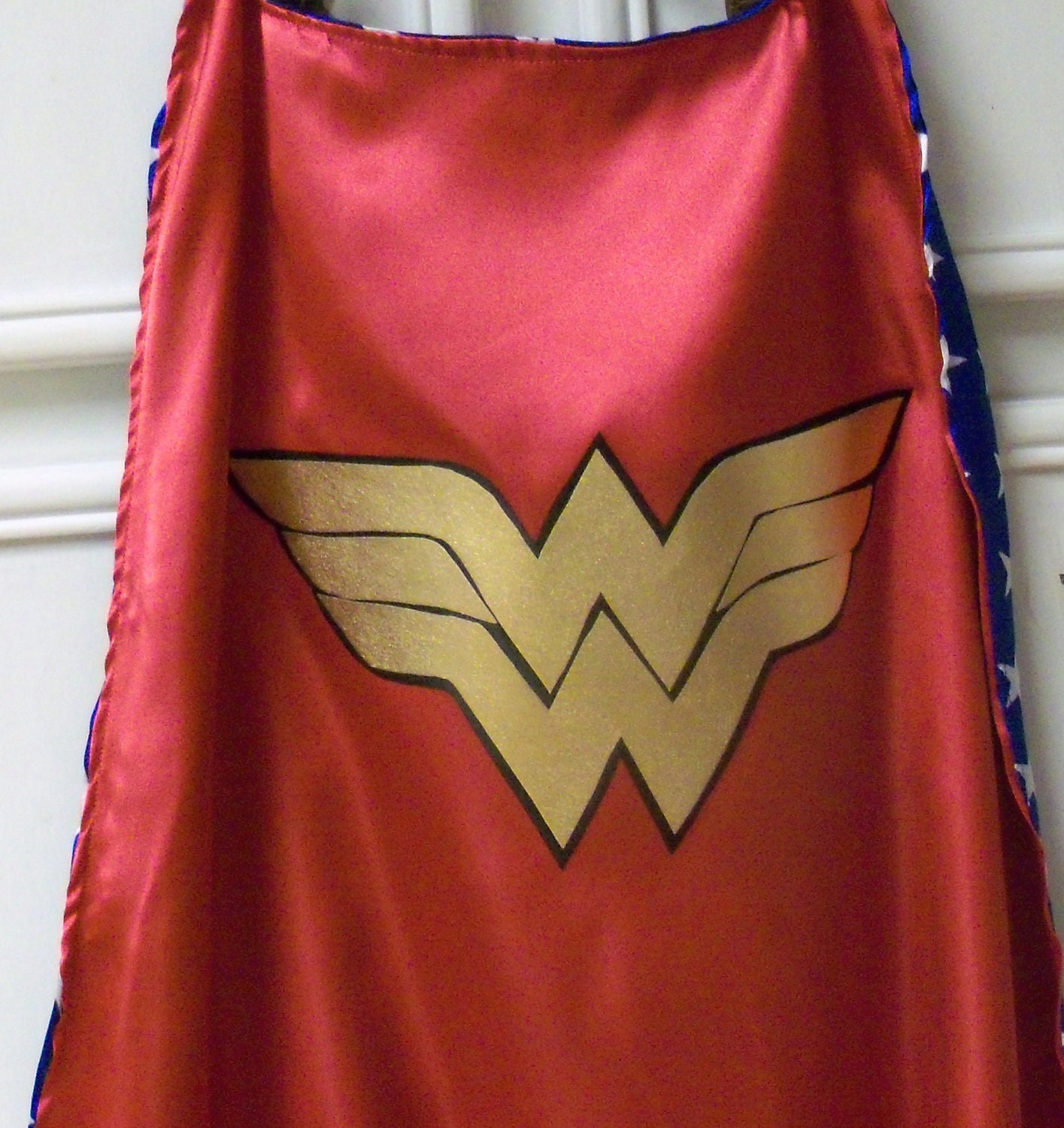 Awesome Double Sided Adult Wonder Woman By Auntbunnysblankets