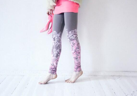 Raspberry sorbert leggings