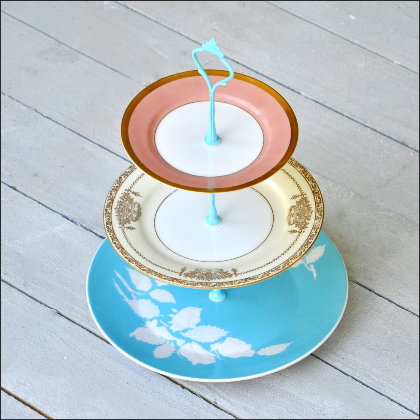 chrysalis 3 tier cake stand vintage cake stand mid century. Black Bedroom Furniture Sets. Home Design Ideas