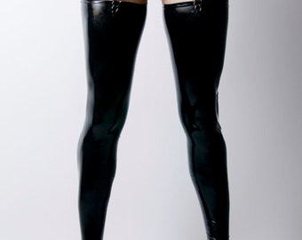 Latex Rubber Thigh High Stocking by VEX - Modern Stocking -