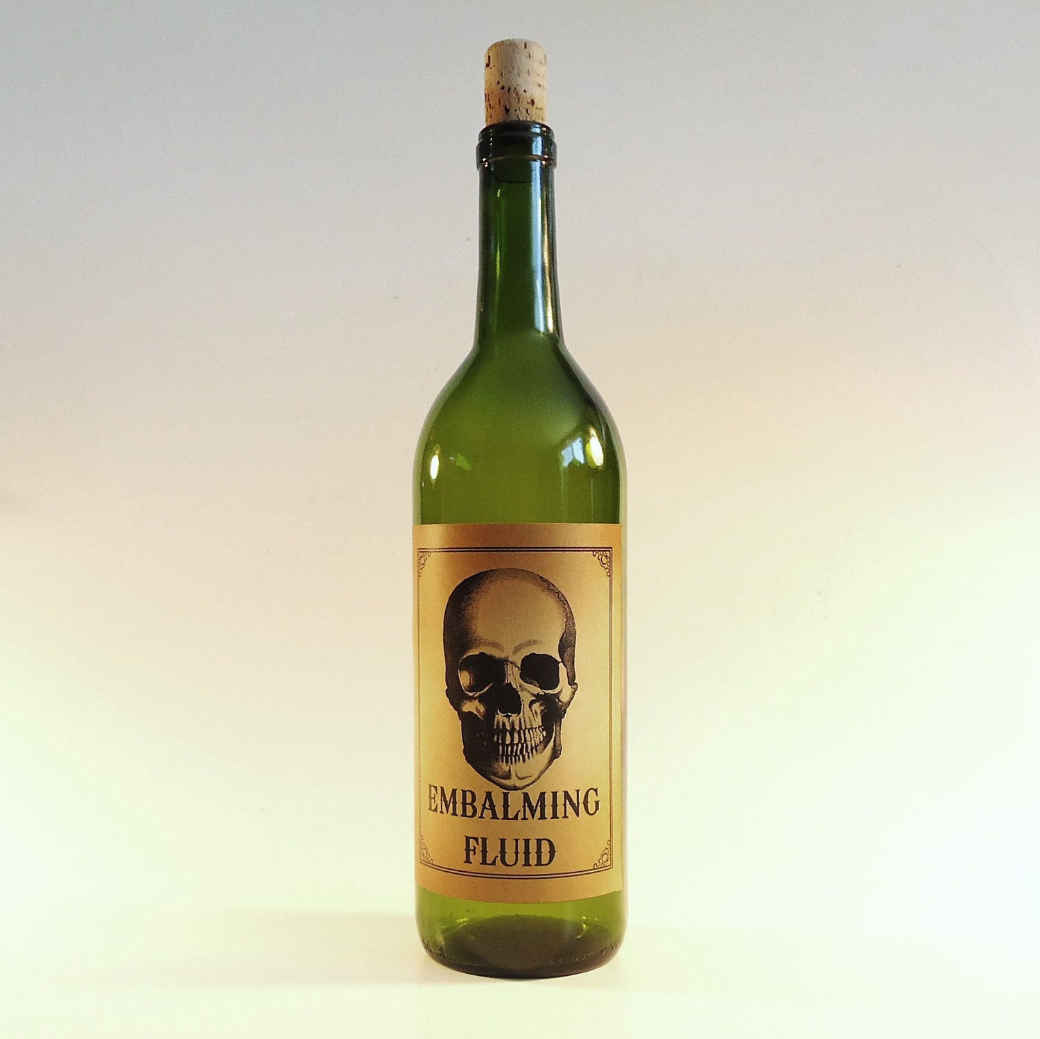 Halloween Bottle Labels Self Adhesive Wine Labels By
