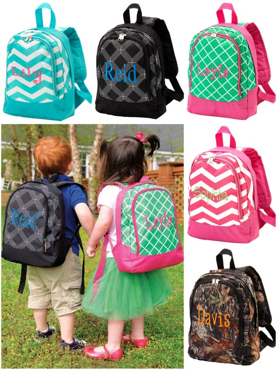 Preschool Toddler Couture Backpack
