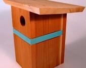 Modern Birdhouse. Original design by chürp.