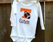 Personalized University of Tennessee Football Bodysuit