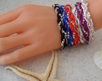 Valentine's Day Gift Friendship Bracelets - Choose ONLY ONE - 6 different colors