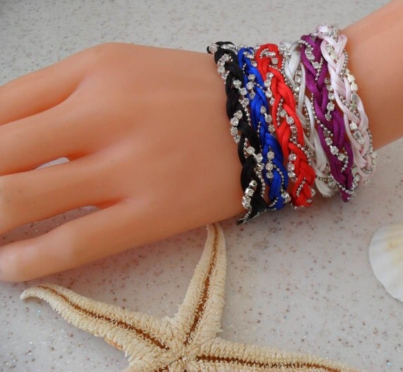 Friendship Bracelets - Choose ONLY ONE - 6 different colors