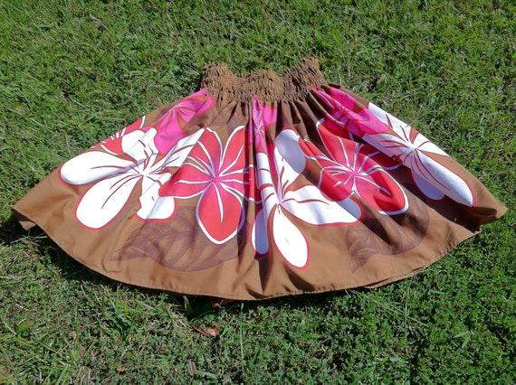 Adult Hula Skirt (pa'u) --Haukalima