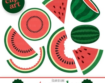 Watermelon Clip Art Fruit clipart