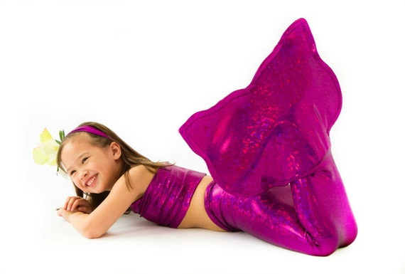 Pink Mermaid Tail for Girls