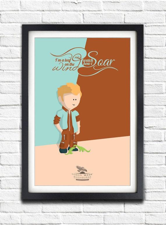 Firefly - Serenity - Hoban 'Wash' Washburne - Alan Tudyk - 19x13 Poster