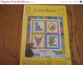 Pattern for LOVE Baby Quilt