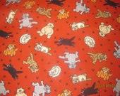 1 yard of Cute Kitties fabric