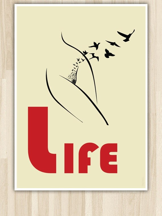 Life, Poster Print Art