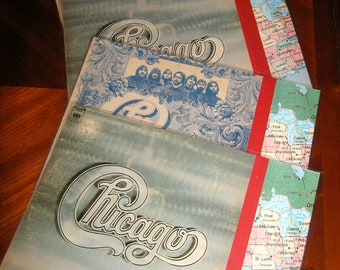 Placemats -- Vintage Album Cover Placemats -- Chicago Collection