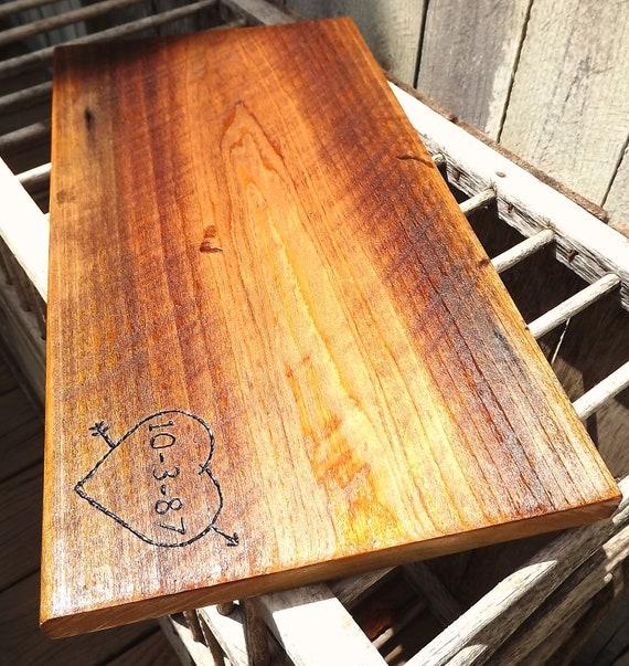 Reserved for annafoxryan: Custom Barn Wood Cutting Board