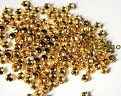 8mm 50pcs Gold round studs / HIGH Quality -  Fikashop