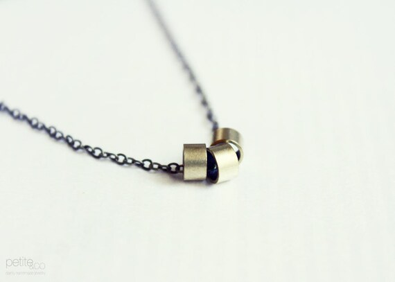 infinity - delicate minimalist necklace / gift for her under 20usd