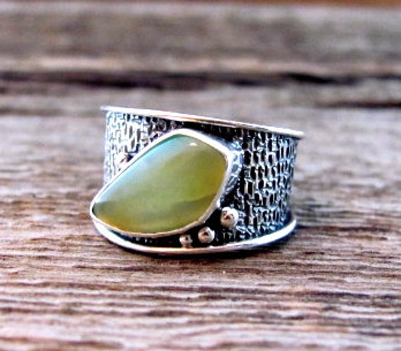 All Souls Band in Sterling and Peruvian Opal