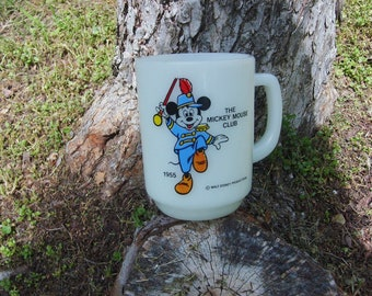 1955 Mickey Mouse Club Mug, Walt Disney, Pepsi Collection Series