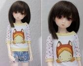 Unoa Minifee slim MSD Fox Girl Shirt