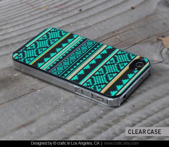 Mint Aztec iPhone 5 / 5S Case, Aztec iPhone 6 / 6S Case, iPhone 6 / 6S Plus cover, Aztec iPhone 5C Case, iPhone 4 / 4S cases